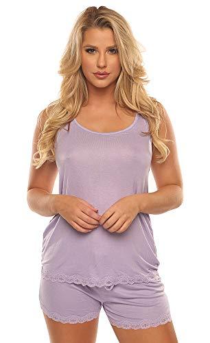 Velvet Kitten Flirty Shorts Set 562856-2439 Medium Leopard