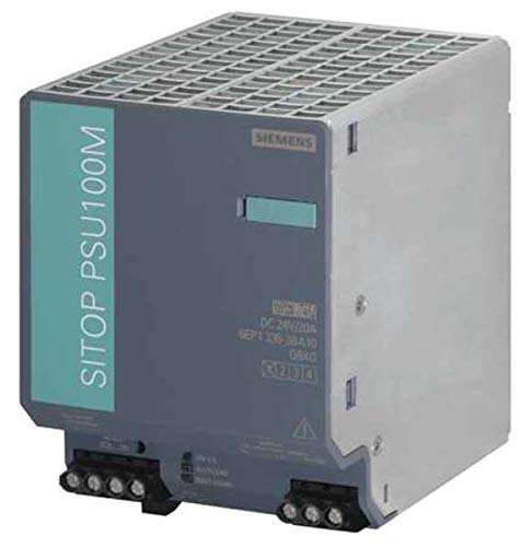 6EP1336-3BA10 | SIEMENS SITOP PSU8200 STABILIZED POWER SUPPLY, INPUT: 120-230VAC/110-220VDC, OUTPUT: 24VDC/20A