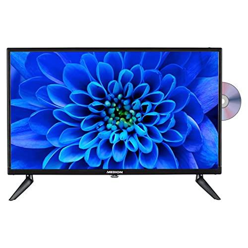 MEDION E12463 59,9 cm (23,6 Zoll) Full HD Fernseher (integrierter DVD-Player, HD Triple Tuner, CI+, Car-Adapter, Mediaplayer)
