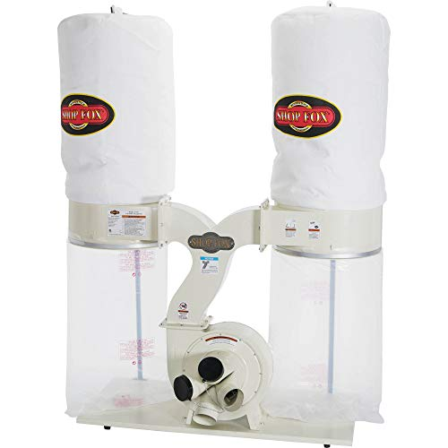 SHOP FOX W1687 3-Horsepower 2,800 CFM Dust Collector