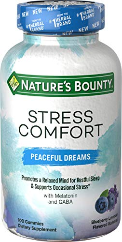 Nature's Bounty Nature's Bounty Stress Comfort Peaceful Dreaming, 100 Gummies, 100 Count