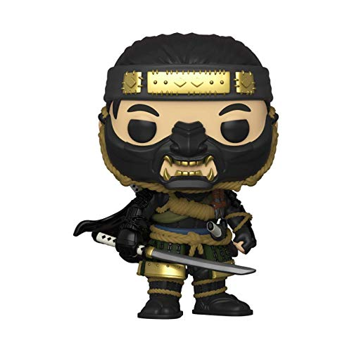 Funko- Pop Games: Ghost of Tsushima-Jin Sakai Figura Coleccionable, Multicolor (49041)