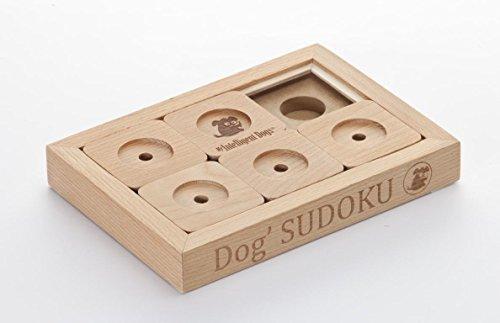 My Intelligent Dogs Interaktives Hundespielzeug aus Holz Dog\' Sudoku Advanced, S