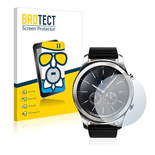 brotect Pellicola Vetro Opaca Compatibile con Samsung Gear S3 Classic Protezione Schermo Anti-Riflesso Durezza 9H, AirGlass