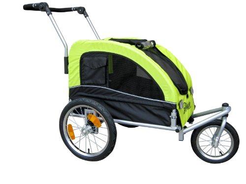 Booyah Medium Dog Stroller & Pet Bike Trailer and with Suspension -...
