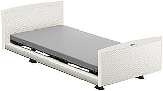 パラマウントベッド 電動ベッド インタイム1000 マットレス付 1+1モーター ヨーロピアン フットボードあり (ホワイト) RQ-1134WE+RM-E251 【4梱包】