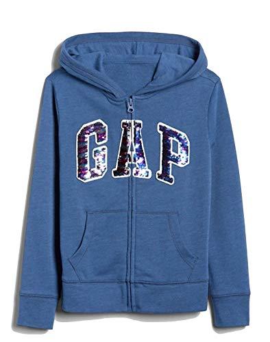 Gap Mädchen Logo Hoodie Sweatshirt - mehrfarbig - Mittel