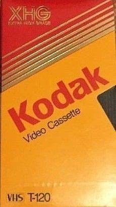 Best Review Of Kodak Extra High Grade EHG VHS T-120 video Cassette VCR Tape