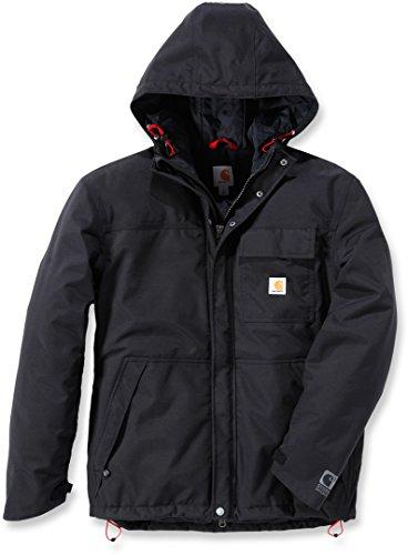 Carhartt Men's Insulated Shoreline Jacket, Black, X-Large