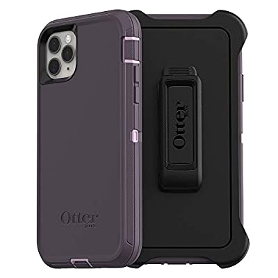 OtterBox DEFENDER SERIES SCREENLESS EDITION Case for iPhone 11 Pro Max - PURPLE NEBULA (WINSOME ORCHID/NIGHT PURPLE)