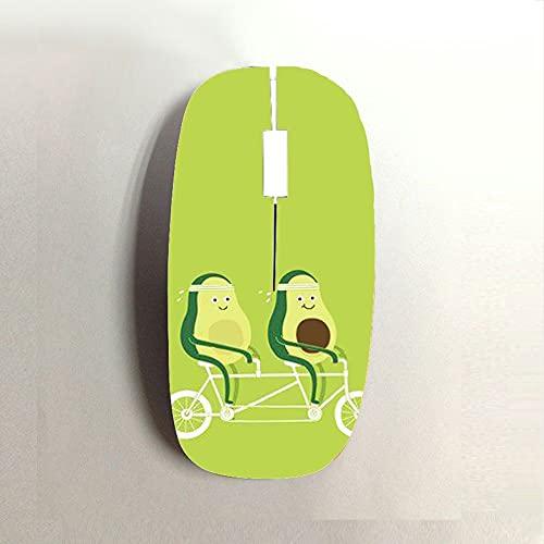 mouse wireless kids Generic Plastica Dura Kid Stampare Avocado Dropproof Compatibile con Wireless Mouse