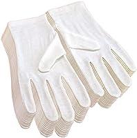 マイプラネット 純綿100% コットン手袋 12双組 Mサイズ 白 ST-03