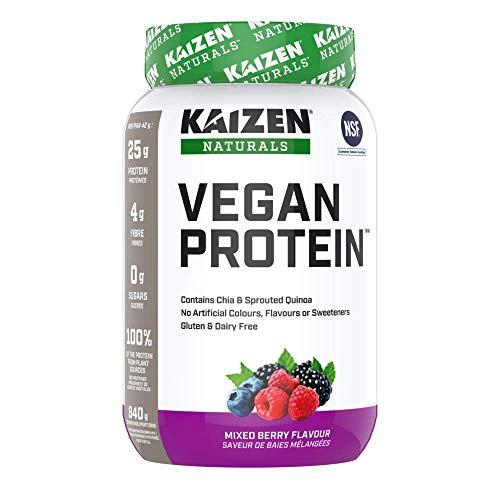 Kaizen Naturals Vegan Protein, Mixed Berry, 840 g