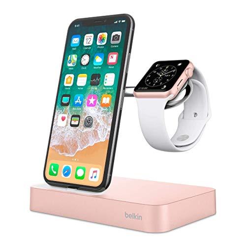Belkin Valet Dock für Apple Watch und iPhone, Gold