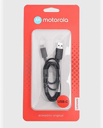 Cabo de Dados USB/USB-C, motorola, MO-SKN6473AI, Preto