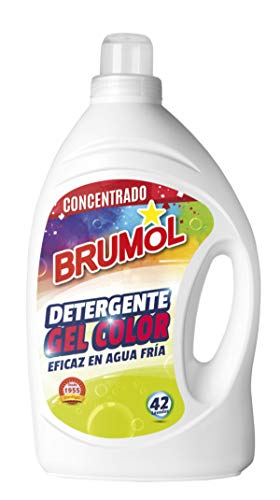 Brumol wasmiddel Gel Color 42 wasbeurten - 4-pack (4 x 2770 ml) - in totaal 11080 ml