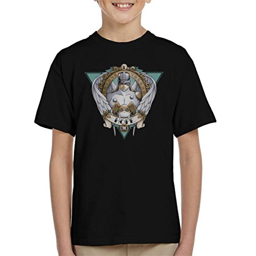 Cloud City 7 Hope Patamon Angemon Digimon Kid's T-Shirt