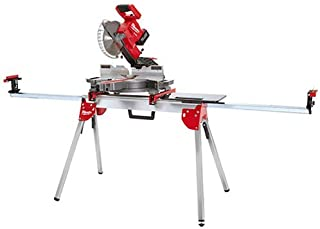 Miter Saws Planers and Jointers for Log Pedestal with Ball Bearing Roller Timber Works with Table Saws Firewood and Metal Material Renewed WORKPRO Folding Roller Stand Height Adjustable 250 lbs