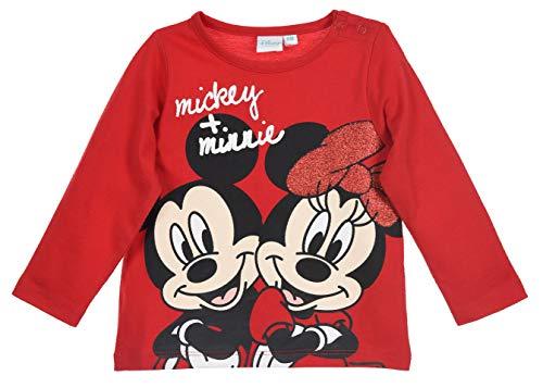 Minnie Mouse bebé-niñas Camiseta de Manga Larga