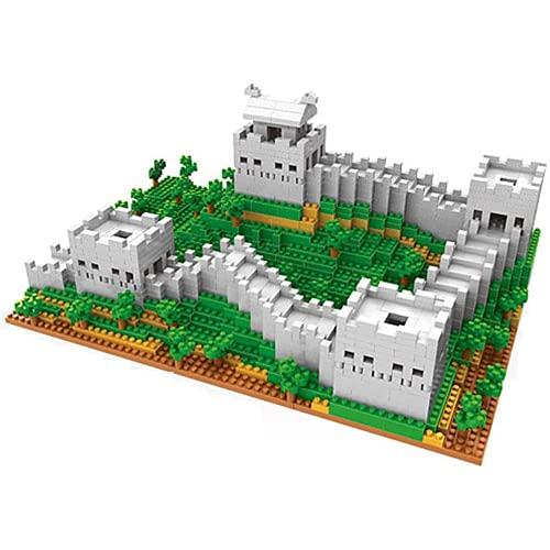 Portonss Super Wall Toy Adulto y Niño Mini Micropups Puzzle Construction Block Construction Kit de la Plantilla 1719pcs