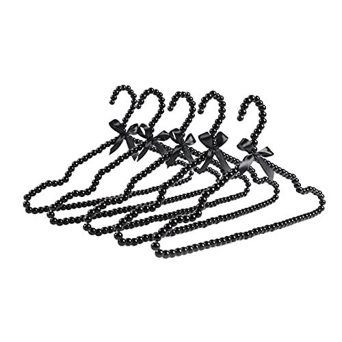 JIAYING Perchas estándar Perciones Estándar Perlas Perlas Perchas Perchas Abrigo Perchas Pantalones Perchas Faldas Perchas Ahorrando Perchas, Para Trajes Ab(Size:30...