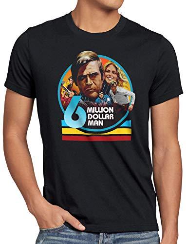 style3 Homme Qui valait Trois milliards T-Shirt Homme Tele série télévisée osi, Taille:L