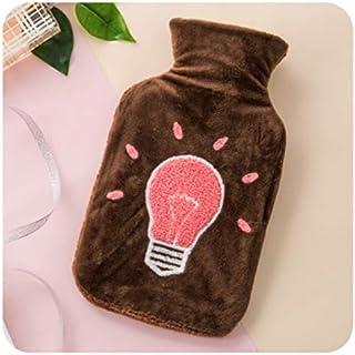 Warmwaterkruik, cadeauset, hals, taille, benen, buik, verjaardag, beste cadeaus voor geliefden, ouders en kinderen, bruine...