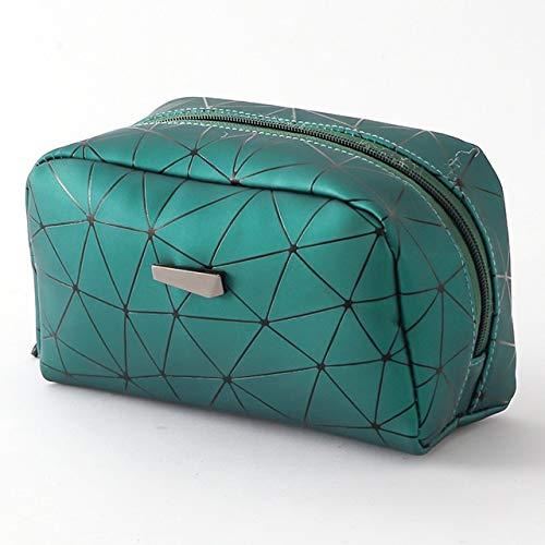 PoplarSun Corée New Rhombique cosmétique Sac Mme Portable cosmétique Sac de Rangement Sac de Lavage Femmes Maquillage Laser Voyage étanche (Color : 2)