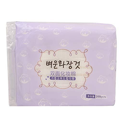 Cadeau de fête des mères Serviette de maquillage 200 pièces tampons nettoyants pour le visage outil de retrait cosmétique pour femmes filles