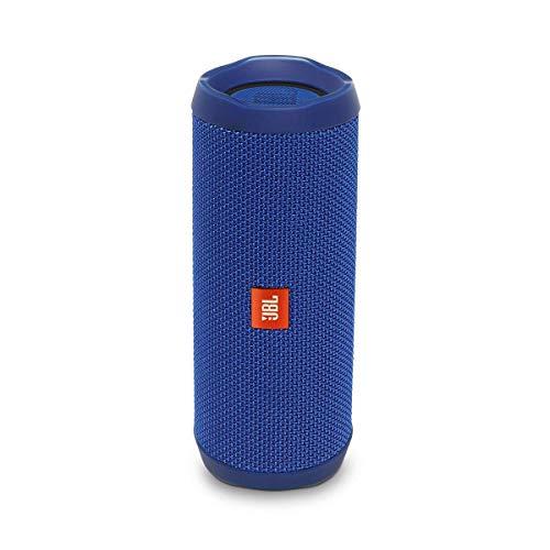 JBL Flip 4 IPX7 Waterproof Wireless Portable Bluetooth Rechargeable USB Speaker (Blue)...