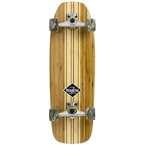 Mindless Longboards Surf Skate Longboard Unisex Erwachsene Mehrfarbig (Bambo), 9.5