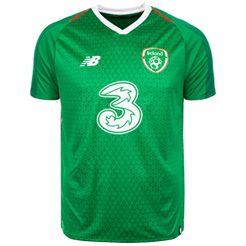 New Balance Herren Trikot Republic of Ireland Home Kurzarm L Jolly Green