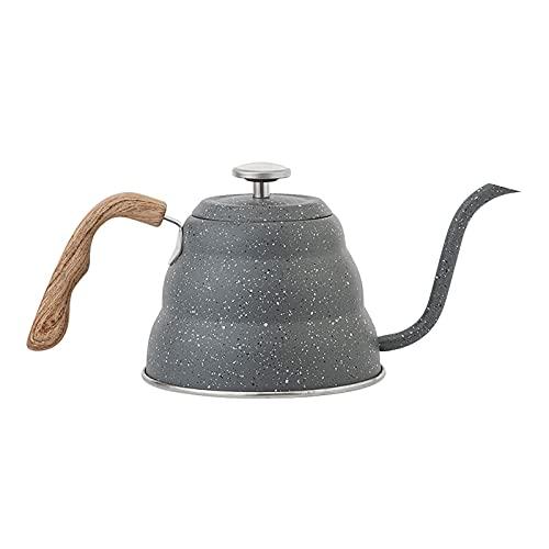 Ekspres do kawy, 500 MLCOFFEE Czajnik Czajnik Kawa Ze Stali Nierdzewnej 304 Malowane Europejski Styl Gęsienek Czajnik Żaroodporny Garnek Kawowy