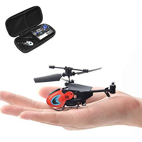 WEIFLY RC Hubschrauber-Fern Hubschrauber Spielzeug mit Gyroskop Kontrollierte und LED-Licht 3,5 Hz Mini Hubschrauber, Luft Drohnen Spielzeug Drohnen Test für Kinder und Anfänger Fallen,(b)