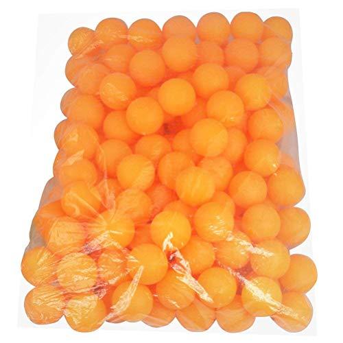 AOWA Tischtennisbälle Trainingsball Ping Pong Ball, Orange, 150 Stück