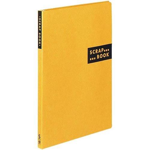 コクヨ スクラップブックSスパイラルとじ台紙40枚黄10冊