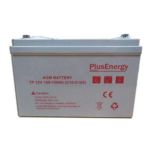 wccsolar.es Batería AGM/Gel PlusEnergy 12V 150Ah / 250Ah
