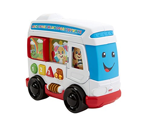 Fisher-Price- l'Autobus di Cagnolino, Multicolore, FKF15