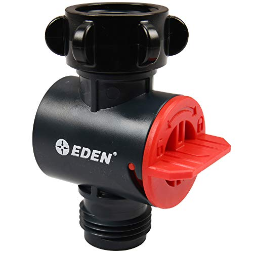 Eden 20138 Inline Garden Hose Water Sediment Filter, with 50 Mesh Screen