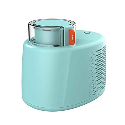 CJF Helado para el hogar creador de Helados Construido en congelador, máquina de Helado de Sirviente Suave sin refrigeración previa, Sorbete de Gelato máquina de Yogur congelado Verde HMP