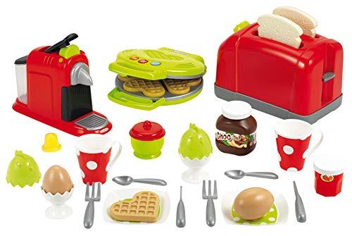 Set de pequeños electrodomésticos de 100% Chef de 33 piezas (Ecoiffier 26470)