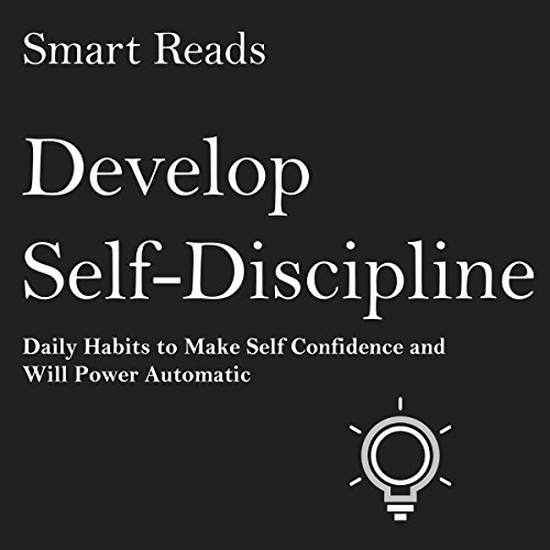 Develop Self-Discipline audiobook cover art
