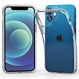 Highend berry iPhone12 mini TPUソフトケース 耐衝撃 クリア 透明 ストラップホール付き