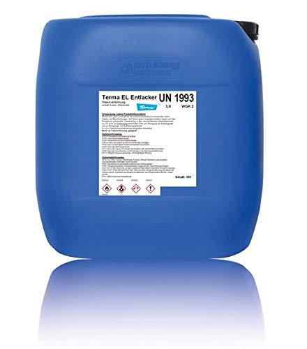 Terma EL Entlacker 30 kg (30 Liter Kanister), Kaltentlacker, Felgenentlacker, Entlackungsmittel, Felgen Entlacker
