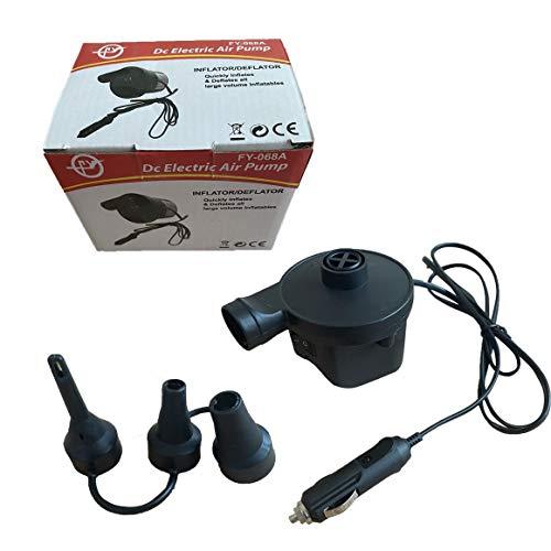 KoelrMsd Bomba de Aire eléctrica para el hogar, inflar, desinflar para colchón de Aire, Cama de Aire, Bomba de inflado eléctrica, pequeña Bomba Inflable