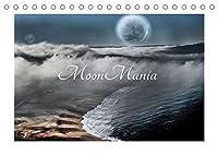 MoonMania (Tischkalender 2022 DIN A5 quer): Hypnotische Bilder fuer Mondsuechtige (Monatskalender, 14 Seiten )