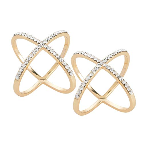 Bufanda de mujer a la moda, hebilla de anillo de aleación de cristal, elegante y de alta calidad, hebilla hueca para mujer, hebilla de cuello, anillo de aleación de cristal, elegante