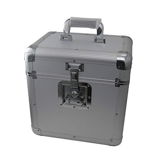 CRISTALRAY DJ LP- koffer voor 70 LP's - zilver