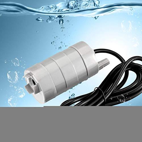 WangYONGQI DC 12V 1000L / H 5m borstelloze dompelwaterpomp aquarium vijverfontein water verwisselen