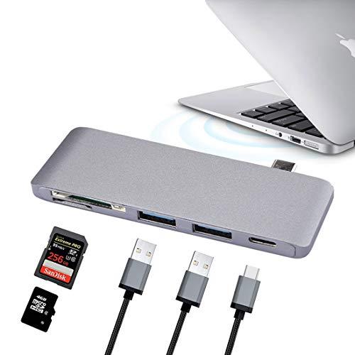 Partes de PC MMGZ 5 Puertos (USB-C/Tipo-C y 2 * USB 3.0...